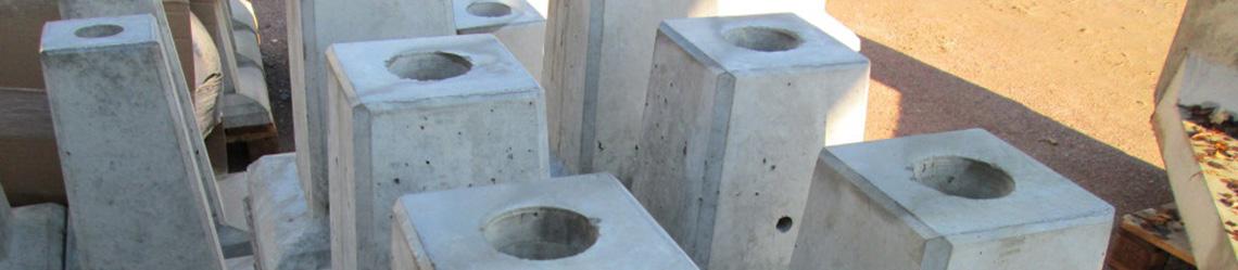cement till plintar
