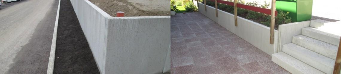 trappblock betong